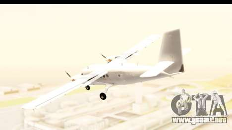 DHC-6-400 All White para GTA San Andreas left