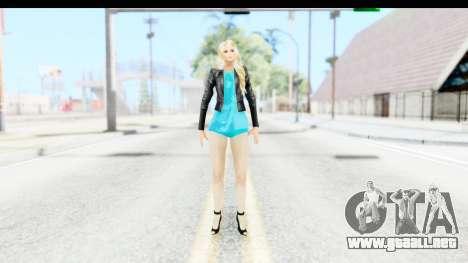 Sarah Hyland para GTA San Andreas segunda pantalla