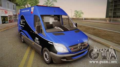 Mercedes-Benz Sprinter 2012 Midwest Ambulance para GTA San Andreas