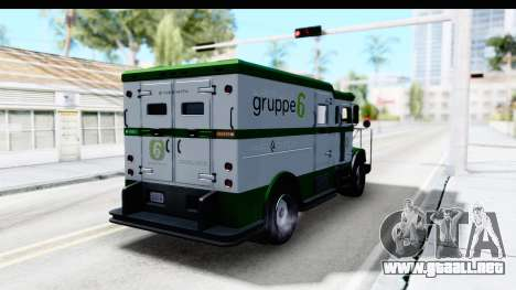 GTA 5 Stockade v1 para GTA San Andreas left
