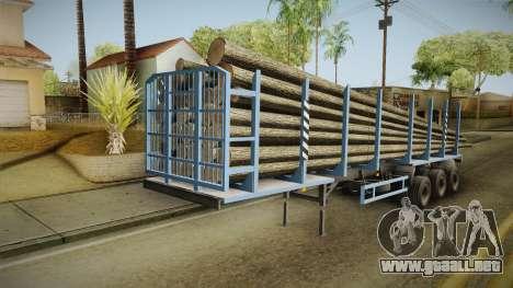 MAZ 99864 Remolque v1 para la visión correcta GTA San Andreas