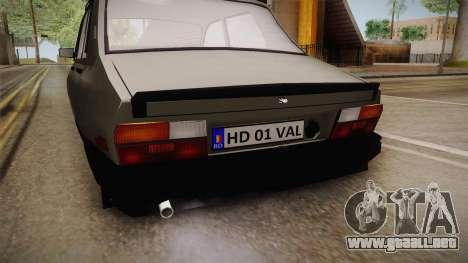 Dacia 1310 TX 1986 para visión interna GTA San Andreas