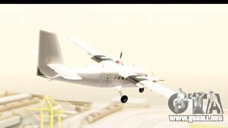 DHC-6-400 All White para la visión correcta GTA San Andreas