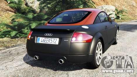 GTA 5 Audi TT (8N) 2004 [add-on] vista lateral izquierda trasera