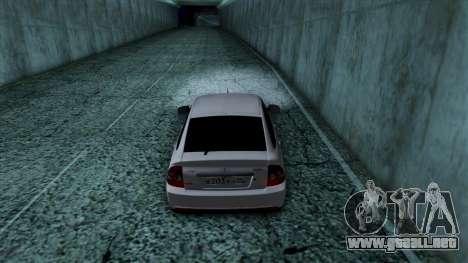 Lada Priora para la vista superior GTA San Andreas