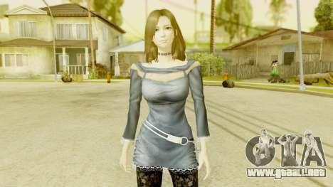 Fatal Frame 5 - Hisoka para GTA San Andreas segunda pantalla