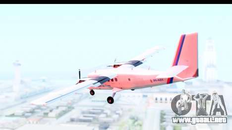 DHC-6-400 Nepal Airlines para GTA San Andreas left