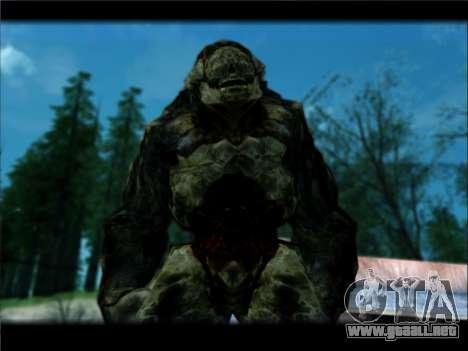 DOOM 3 - Hunter Invulnerability para GTA San Andreas segunda pantalla