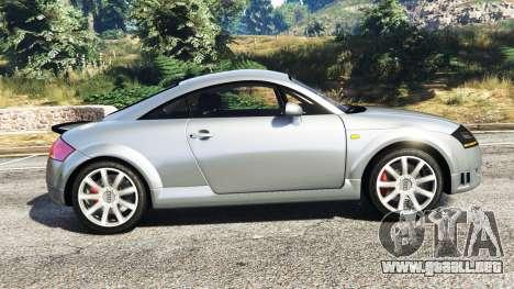 GTA 5 Audi TT (8N) 2004 [replace] vista lateral izquierda