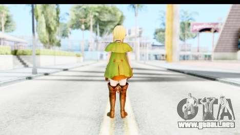 Hyrule Warriors - Linkle para GTA San Andreas tercera pantalla