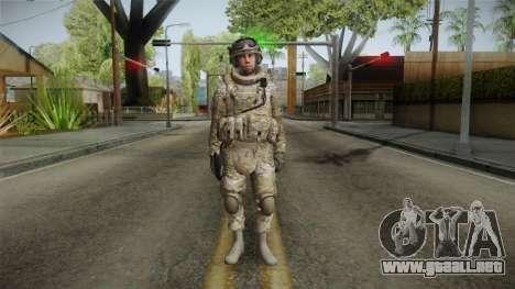 Multicam US Army 5 v2 para GTA San Andreas segunda pantalla