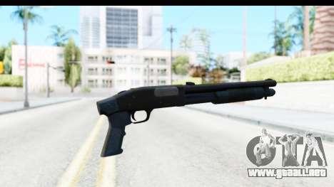 Tactical Mossberg 590A1 Black v3 para GTA San Andreas segunda pantalla