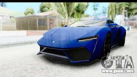 GTA 5 Pegassi Reaper SA Style para GTA San Andreas