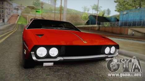 Lamborghini Espada S3 39 1972 para la visión correcta GTA San Andreas
