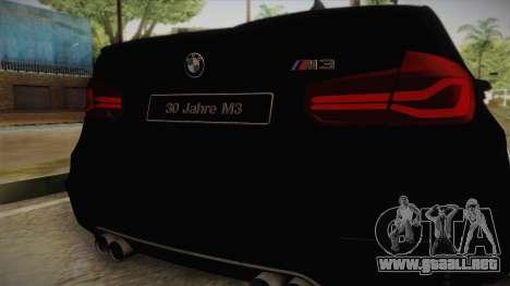 BMW M3 F30 para la visión correcta GTA San Andreas