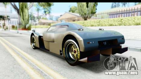 GTA 5 Annis RE-7B IVF para GTA San Andreas left