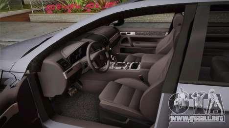 Volkswagen Passat B6 Variant para visión interna GTA San Andreas