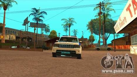 Range Rover Sport ДПС para la visión correcta GTA San Andreas