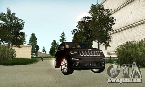 Jeep Cherokee SRT 8 para GTA San Andreas left