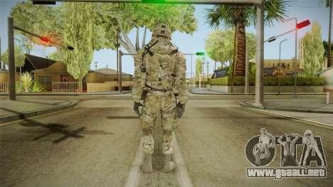 Multicam US Army 1 v2 para GTA San Andreas tercera pantalla