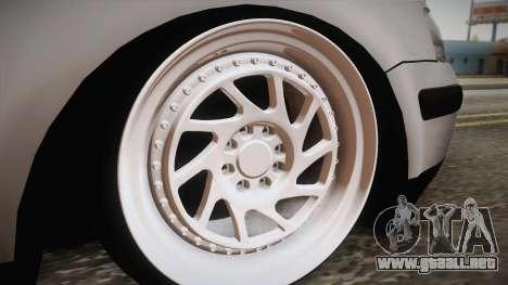 Volkswagen Passat 2.0 TDI para la visión correcta GTA San Andreas
