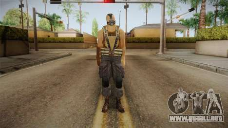 The Dark Knight Rises - Bane para GTA San Andreas segunda pantalla