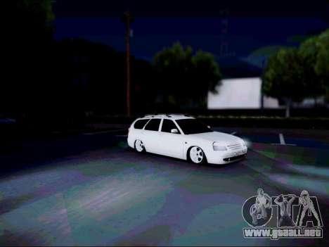 Lada 2171 para la visión correcta GTA San Andreas