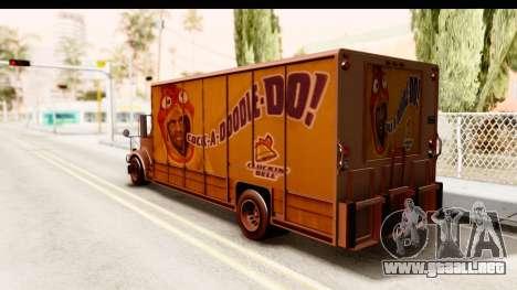 GTA 4 Vapid Benson para GTA San Andreas left
