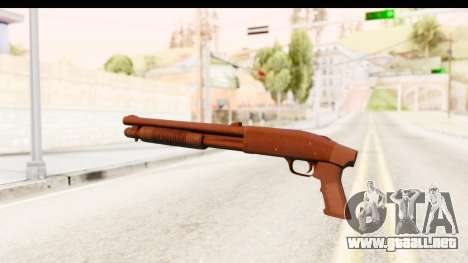 Tactical Mossberg 590A1 Black v1 para GTA San Andreas segunda pantalla