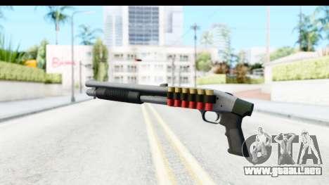 Tactical Mossberg 590A1 Chrome v3 para GTA San Andreas tercera pantalla