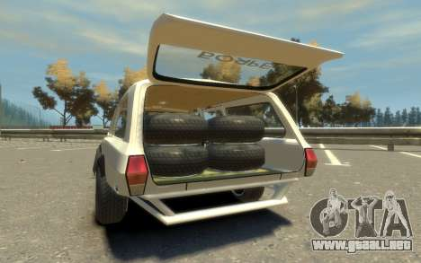 ГАЗ 310221 (Paul Black prod.) para GTA 4 vista hacia atrás