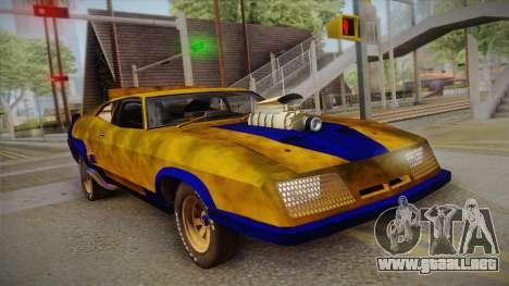 Ford Falcon 1973 Mad Max: Fury Road para GTA San Andreas