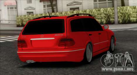 Mercedes-Benz E55 para GTA San Andreas left