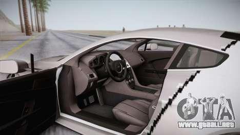 NFS: Carbon TFKs Aston Martin Vantage para vista lateral GTA San Andreas