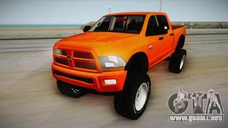 Dodge Ram 2500 Lifted Edition para GTA San Andreas