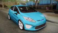 Ford Fiesta Kinetic Design para GTA San Andreas