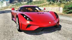 Koenigsegg Regera 2016 v1.1a [add-on] para GTA 5