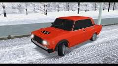 VAZ 2105 parche v3 para GTA San Andreas