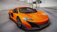 McLaren 675LT 2015 10-Spoke Wheels para GTA San Andreas