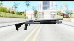 Tactical Mossberg 590A1 Chrome v4 para GTA San Andreas