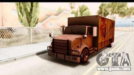 GTA 4 Vapid Benson para GTA San Andreas