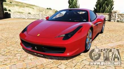 Ferrari 458 Italia v2.0 [add-on] para GTA 5