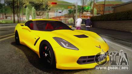 Chevrolet Corvette Stingray 2015 para GTA San Andreas