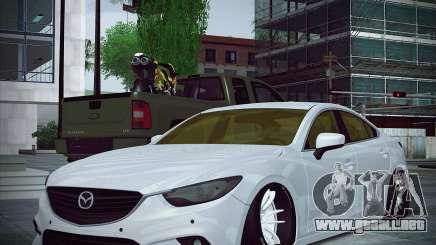 Mazda 6 Stance para GTA San Andreas
