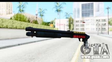 Tactical Mossberg 590A1 Black v3 para GTA San Andreas