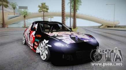 Mazda RX-8 VIP Stance Shimakaze Itasha para GTA San Andreas
