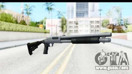 Tactical Mossberg 590A1 Chrome v4 para GTA San Andreas