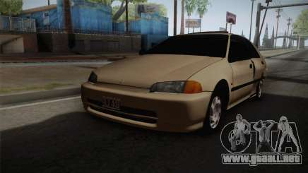 Honda Civic Sedan EX 1993 para GTA San Andreas