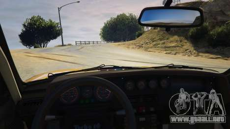 GTA 5 Peugeot 205 Turbo 16 vista lateral derecha