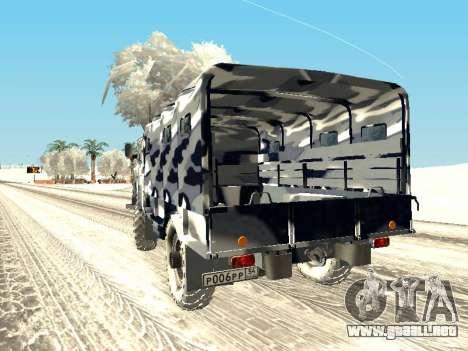 GAZ-66 para GTA San Andreas left